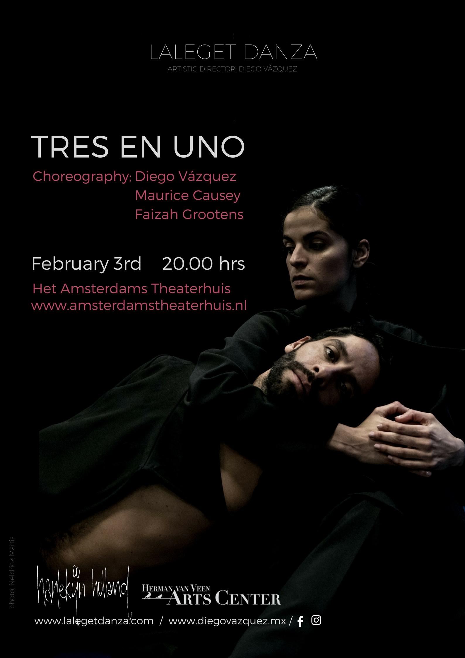 """Laleget Danza met """"Tres en Uno"""""""
