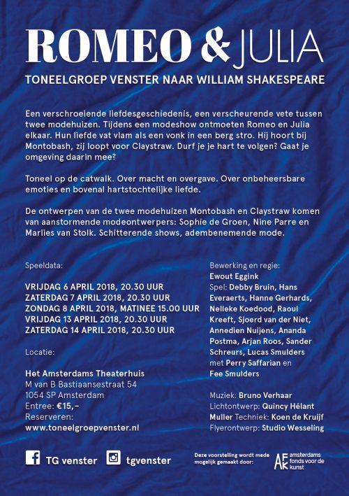 Tg Venster speelt 'Romeo en Julia'
