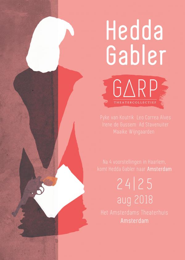 Tg Garp speelt Hedda Gabler