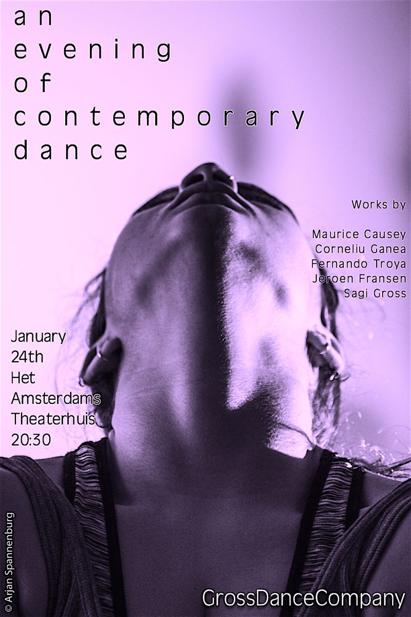 GrossDanceCompany presents 'An evening of contemporary dance'