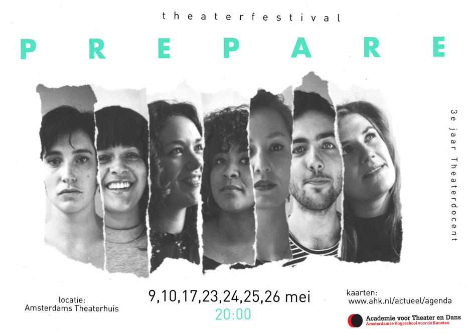 Prepare - 7 nieuwe makers, 7 voorstellingen.