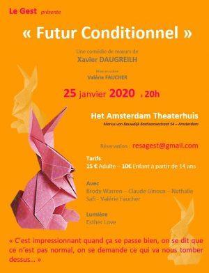 Le Gest - Futur Conditionnel de Xavier Daugreilh